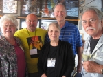 Mary Jo Kaess Shaw, Roger Eckers, Kathy Buresh Takacs, Dennis Olson, and Jay Goetting.